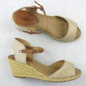 Lucky Brand Kyndra Wedges/Espadrilles/Sandals 8.5M